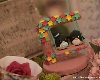 penguin wedding cake topper,  Wedding Cake Topper