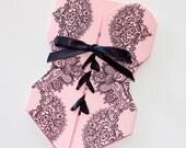 25 - Lingerie Corset Bridal Shower Invitation - Bachelorette Party Invitation - Lace Invitation - Lingerie Party - Light Pink Black