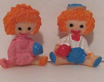 Vintage Miniature Rag Dolls