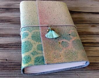 Summer Journal- tassel and gypsy bells - festival vacation journal