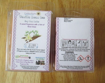 Vanilla Bean Ice Scented Soy Wax Melts Pack