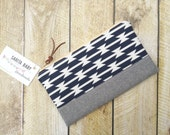 Zippered Clutch - Clutch Purse - Tomahawk - Clutch - Aztec