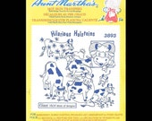 Aunt Martha's Hilarious Holsteins - Embroidery Transfers 3893
