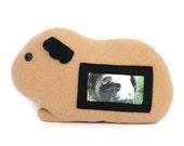 Cavia fotolijst / cavia knuffel / bruine cavia Furry Frame