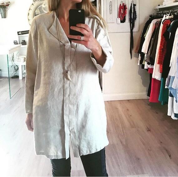 Winter Linen Tunic