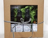 Gift Box Collection - Aromatherapy Sprays, Body Oil,  Bath Salt and Lip Balm - All Natural