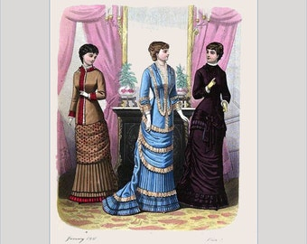A Lady's Book of Fashion Vol. 1 Coloring Book