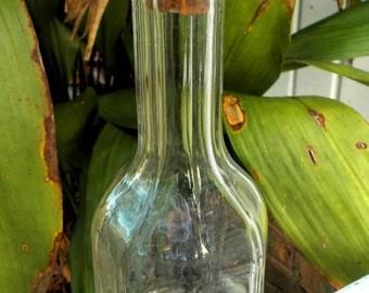 Vintage Barber Bottle Porcelain Top Spout Circa 1920s