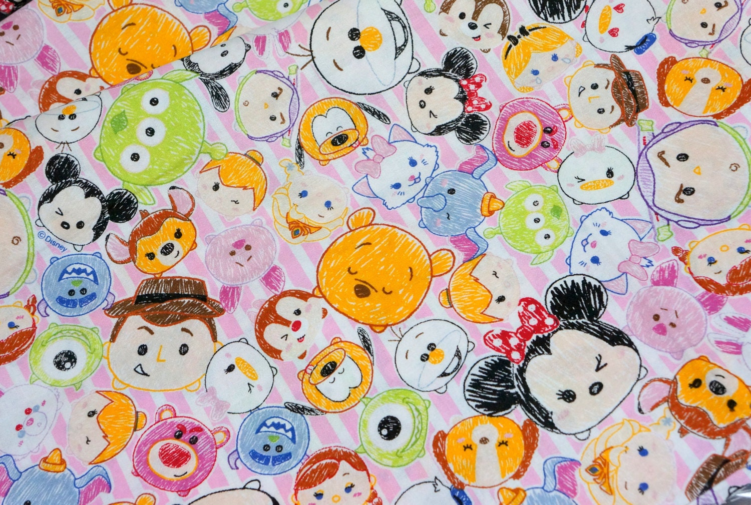 This is a picture of Tactueux Tsum Tsum Characters Names