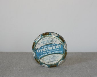 medicated ointment tin