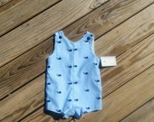 Boys Jon Jons - Whales - Boys Beach Clothing -  Boys Nautical Outfit - Boys 1st Birthday