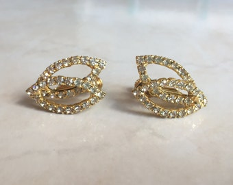 Hobe Rhinestone Earrings