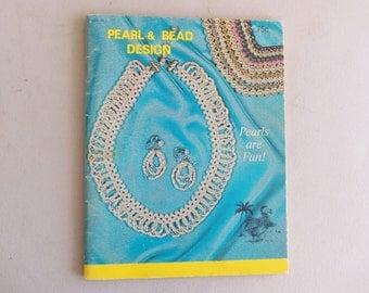 Vintage 1970's Pearl & Bead Design Book