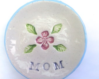 MOM Dish, Ring Dish, Small Spoon Rest, Tea Bag Holder, Small Plate