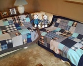 FOR CMEDDERS1 - Two Memory Quilts throw blankets and Two Memory Bears