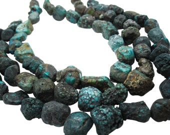 Turquoise Nugget, Turquoise Beads, Blue Turquoise, December Birthstone, SKU 5148A
