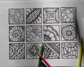 Twinchies Coloring Page - Instant Download  - Page #7