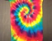 Tie Dye Onesie, Tiedye Onesie, Tie Dye Baby Onesie, 3-9 Months, Rainbow Spiral, Tie Dye Rainbow, Baby Tie Dye
