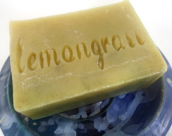 Lemongrass soap - Cold Process Handmade Vegan Soap