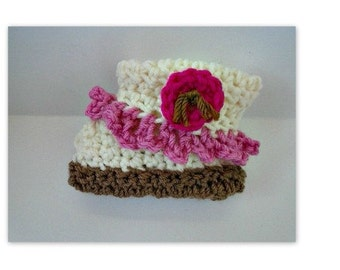 baby booties, crochet pattern,  num. 908  newborn to 12 months,  sell your finished booties, instant digital downloads