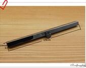 7 1/2 inch ( 19 cm ) Gunmetal wallet  purse frame wallet frame C64