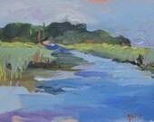 Salt Marsh -- --southern landscape - - original....Reserved for Catherine....UNTIL NOBEMBER 1st