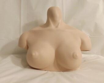 ADULT CONTENT art bust nude half doll (Vault 12)