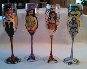 Bewitching Wine Glasses
