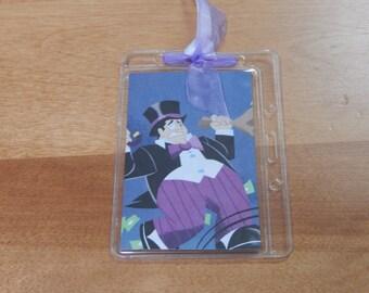 Luggage Bag Tag ID Holder Disney Penguin