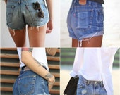 LEVI'S Denim Cutoff Shorts Vintage 501's Jean Shorts All Sizes