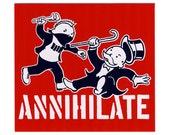 Annihilate sticker
