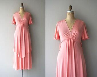 Everyday Magic dress   vintage 1970s dress   70s maxi dress