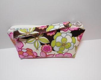 Bag Zippered Wristlet Clutch