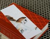 gift for her Owl BOOKMARK Owl, Teacher gift idea sheep bookmark sheep Bird bookmark bunny bookmark (Set I) Art Prints watercolor painting