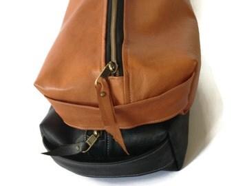 Leather Dopp Kit, Men's Dopp Kit ,Waterproof Lining, Men's Toiletry Bag, Lined Washbag, Shaving Kit,Groom's Men Gift, Gift For Men