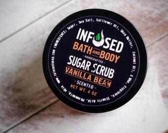 Vanilla Bean Exfoliating Sugar Scrub