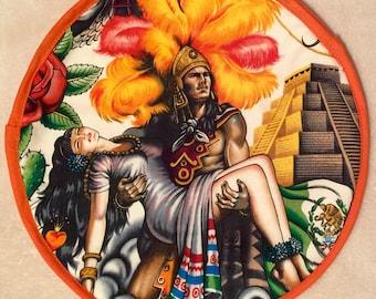 Mexican Aztec Tortilla Warmer