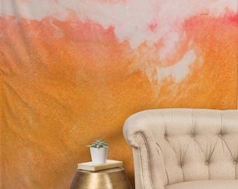 Tapestries - Tangerine Tie Dye