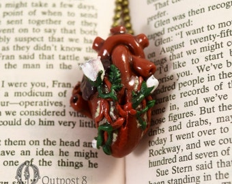 Anatomical Heart Necklace - Growth
