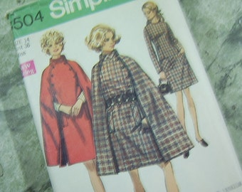 1969 - Cape and Dress - Simplicity 8504