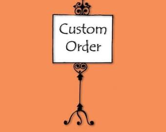 Custom Order for Rachel - Custom Full Body Silhouette Portrait - Unframed 11x14 Art Print - Unique Gift - trending