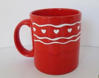 Waechtersbach Red Heart Mug