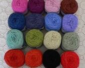 SALE Organic Cotton & Bamboo Blend Knitting Yarn