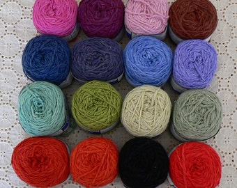 SALE Organic Cotton & Bamboo Blend Knitting Yarn
