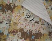Baby Blanket Organic Japanese Cotton Double Gauze Baby Quilt Comforter