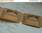 20PercentOff Two Dozen Vintage Amusement Park Tickets
