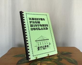 Historic Soulard Cookbook Vintage Community Recipes Paperback Green Black Spiralbound