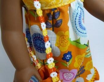American girl doll maxi dress