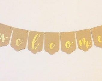 Welcome Half Pint Banner