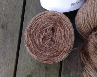North Ronaldsay yarn, 225m/50gram, hand dyed Java